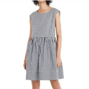 Madewell Gingham Cotton Dress